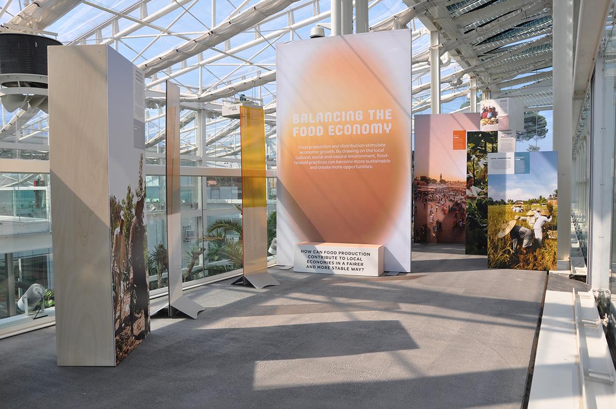 Unesco stampe e allestimenti parco botanico