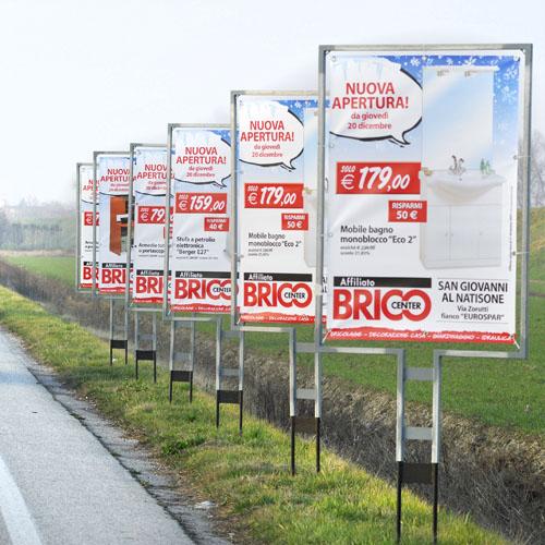 cartelli sequenziali pubblicitari