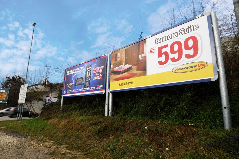 cartelli stradali mercatone